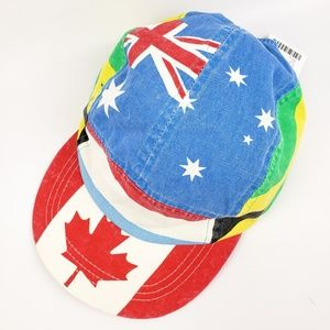 Urban Outfitters 5 Panel Flags Trucker Hat Canada
